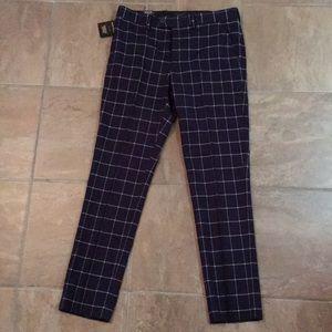 Men's Navy Suit Trouser